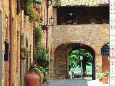 Chianti village of San Donato in Poggio