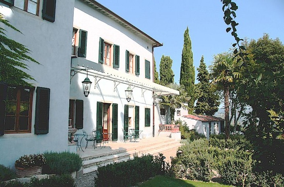 Villa Bordoni luxury hotel near Greve in Chianti, Tuscany