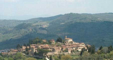 Montefioralle near Greve in Chianti, Tuscany
