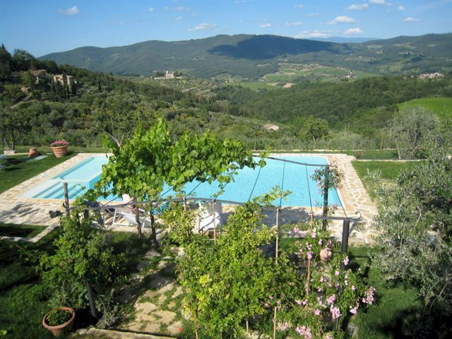 Vacation accommodation for 1 to 4 persons on a Chianti vineyard