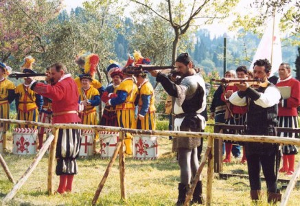 Tuscan folk festivals and historical re-enactments