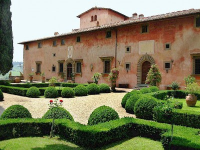 Villa Vignamaggio - NOT where Mona Lisa was born!