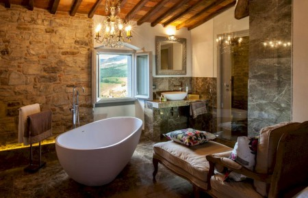 Vitigliano Tuscan private hotel luxury suite