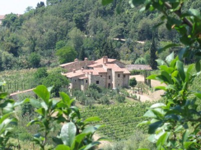 A Tuscan farm house