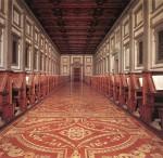 Biblioteca Laurenziana (Laurentian Library) in Florence, Tuscany