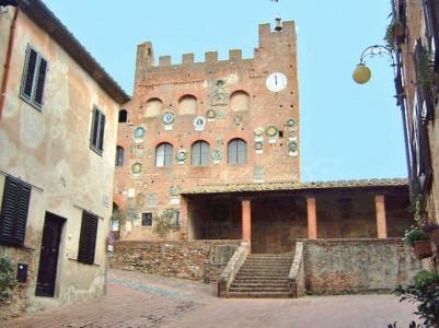 Certaldo old town, home of Boccaccio