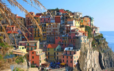 Manarola, one of the Ligurian villages known as the Cinque Terre