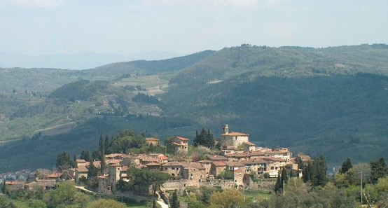 Montefioralle near Greve in Chianti, Tuscany