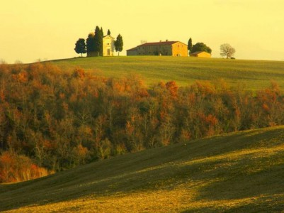 the Val d'Orcia, Tuscany, Italy