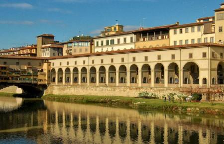 The Vasari Corridor in the late 20th century