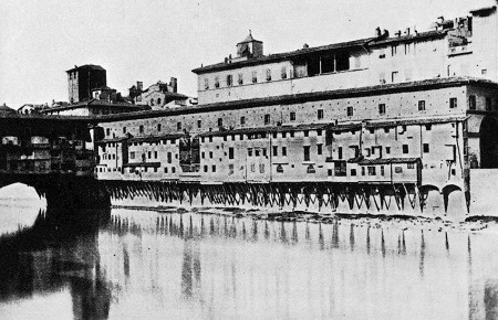 Vasari Corridor in the 19th century